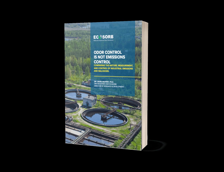 emissions versus odor control book cover